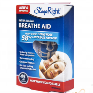 SleepRight Breathe Aid 3 pack Neusspreider